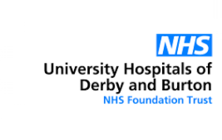 Derby and Burton hospital logo